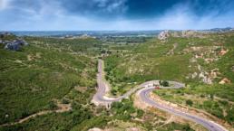 Image aérienne en drone en Provence